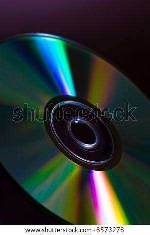 Full light spectrum on a cd quarter