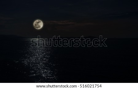 Stock Photo full moon