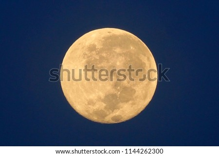 Full Moon / A full moon is the lunar phase that occurs when the Moon is completely illuminated as seen from Earth. #1144262300