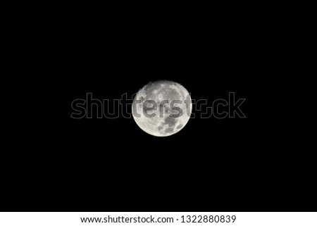full moon in the sky, beautiful photo digital picture