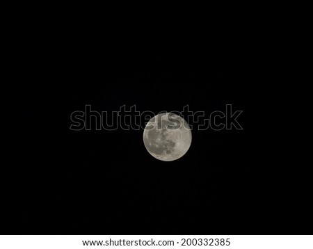 Full moon is the lunar phase that occurs when the moon is completely illuminated as seen from the earth.
