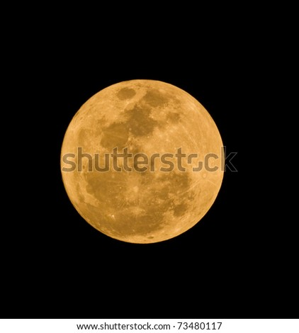 Full Moon , super moon in thailand