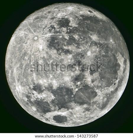 Full Moon, Taken On 22 June 2013