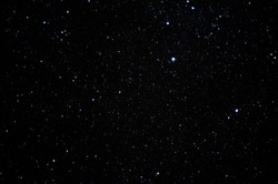 full of starfield, northern of thailand