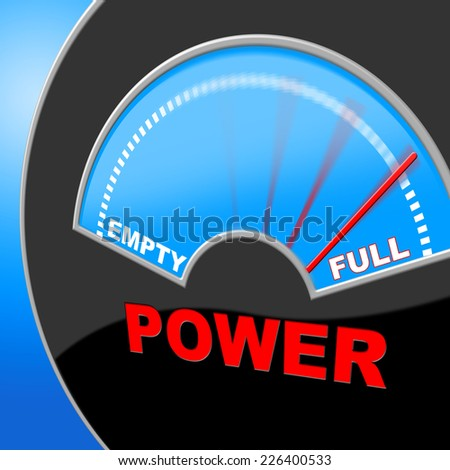 Full Power Representing Dial Display And Electricity