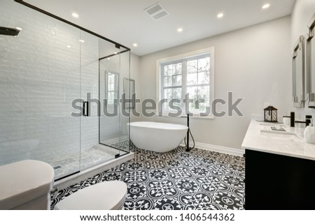 Full set of Canadian brand new staged home in Montreal, Quebec #1406544362