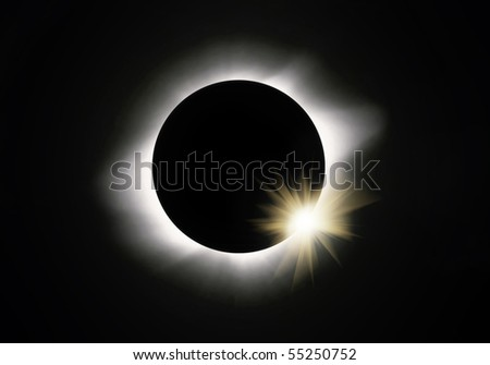 Full sun eclipse
