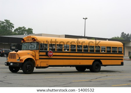 full view of school bus