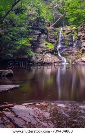 Fulmer Falls - Poconos Mountains