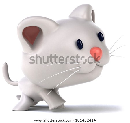 Stock Photo Fun cat