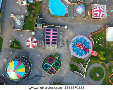 Fun Fair Overhead