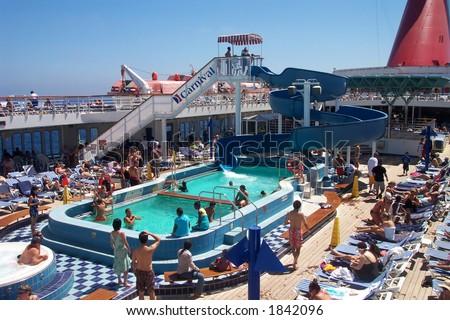 Fun on the Carnival Cruise Ship, Paradise