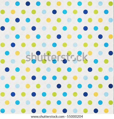 Fun Summer Dots Background