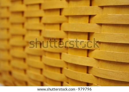 Fundo Do Weave De Cesta - stock photo
