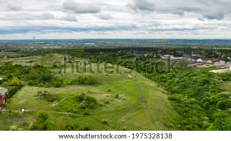 Fundoklia Valley in Erd, Hungary.  Stock fotó ©