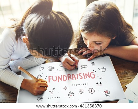 Fundraising Donations Charity Foundation Support Concept #461358370