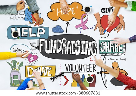 Fundraising Funds Capital Aid Advice Concept #380607631