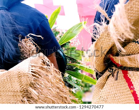Funeral Attire (Tonga) - Mourning Family