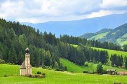 Funes valley, Dolomites, Italy