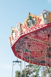 Funfair. Carousel. Amusement park. Nostalgic. Summer holidays