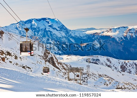 Funicular, French Alps