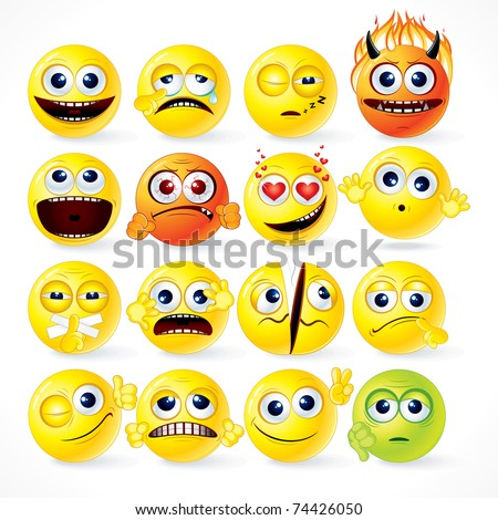 Funky Smileys ( version vector please see at my gallery )