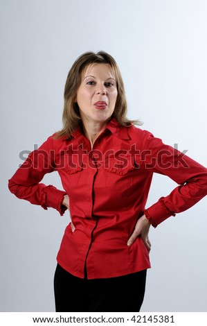 funny adult pictures. stock photo : funny adult
