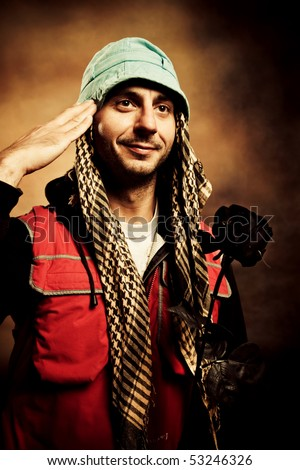 funny adult pictures. stock photo : funny adult man