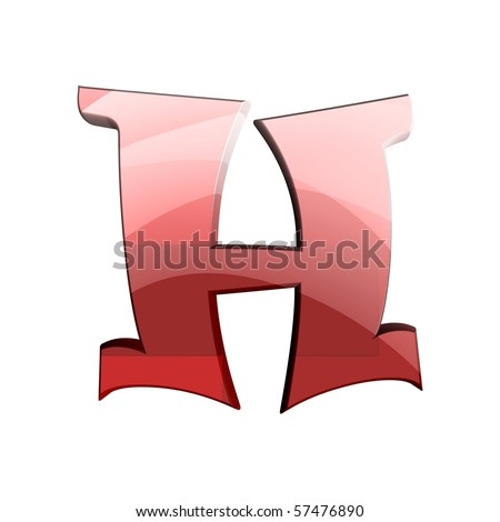 funny fonts. stock photo : funny alphabet;
