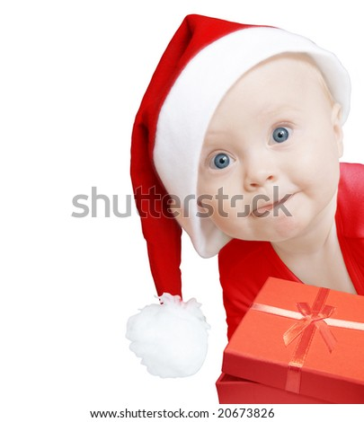 funny baby. stock photo : funny baby in