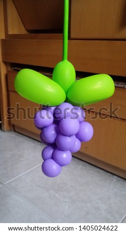 Funny ballons with a twist