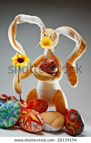 funny easter pictures. stock photo : Funny Easter