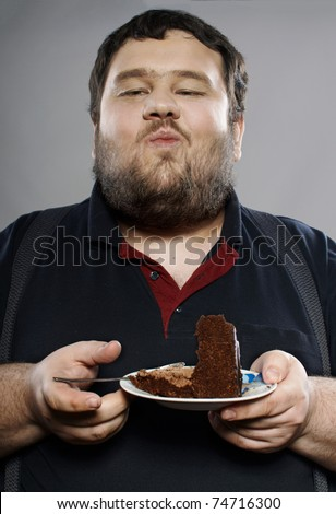 fat man eating ice cream. Fat Man Eating Cake. stock photo : funny fat guy; stock photo : funny fat guy. Evmanw. Apr 17, 08:53 PM. I have this too.