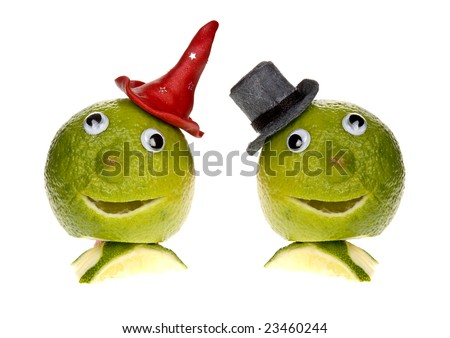 funny fruit. stock photo : Funny fruit