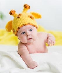 funny infant baby boy