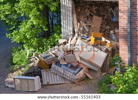 Funny junk - stock photo