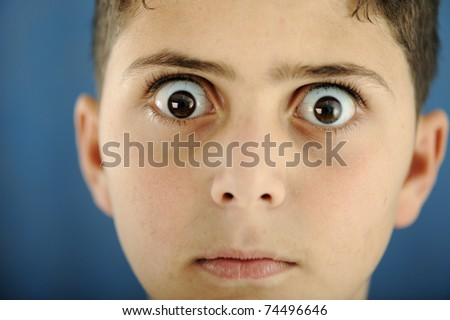 funny kid pictures. stock photo : funny kid boy