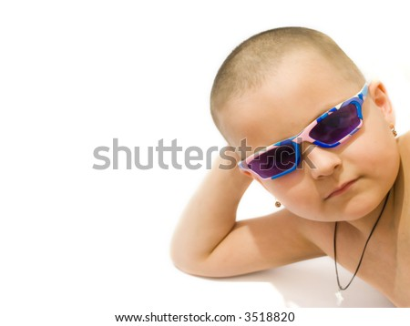 funny kid pictures. stock photo : Funny kid