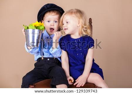 Little Boy Girl Funny