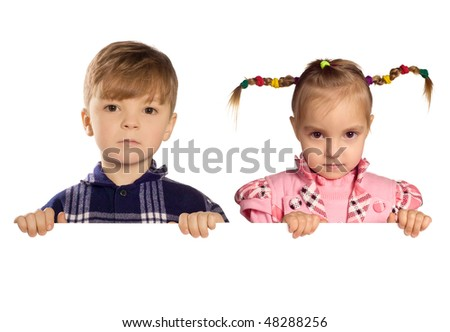 stock photo : Funny little boy