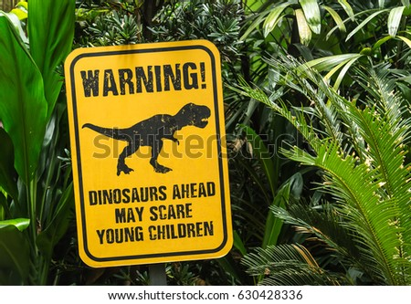 funny notice in zoo