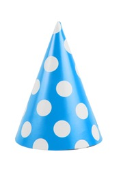 funny party hat isolated on white