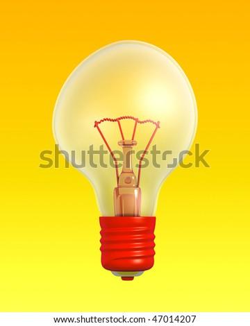 Funny Positive Lightbulb