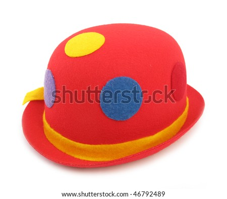 Funny red hat