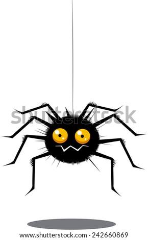 Stock Photo Funny spider