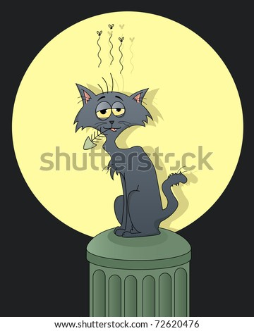 funny street cat (see my gallery for vector)