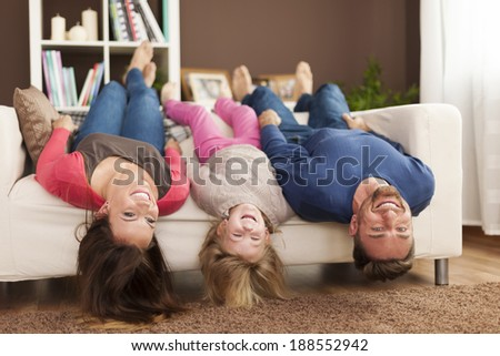 Funny time for family at home  #188552942