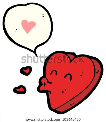 funny valentine's day heart cartoon