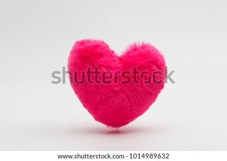 Fur floating heart #1014989632