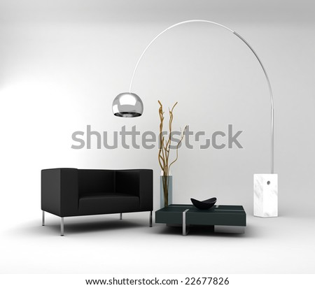Furniture: a minimal and modern interior